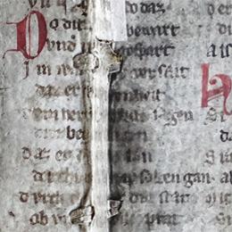Detail des Fragments